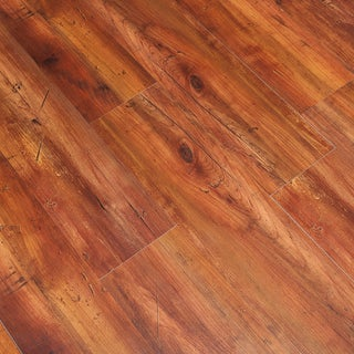 Smoked Hickory 4mm Thick Vinyl Plank Flooring 6 inches x 36 inches (26.53) Square Feet
