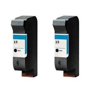 2PK HP C6615 (HP 15) Compatible Ink Cartridge For HP Deskjet 810C/1180C BK ( Pack of 2)