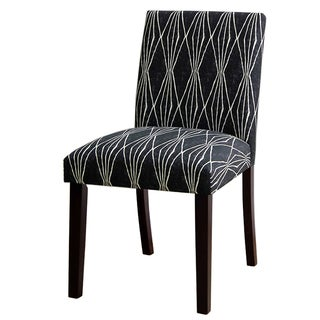 Skyline Furniture Uptown Hand Shapes Coal Dining Chair