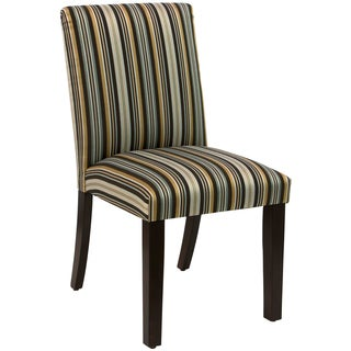 Skyline Furniture Uptown Jordan Stripe Indigo Dining Chair