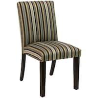 Skyline Furniture Uptown Jordan Stripe Indigo Dining Chair