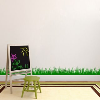 Grass Wall Decal (16x48)