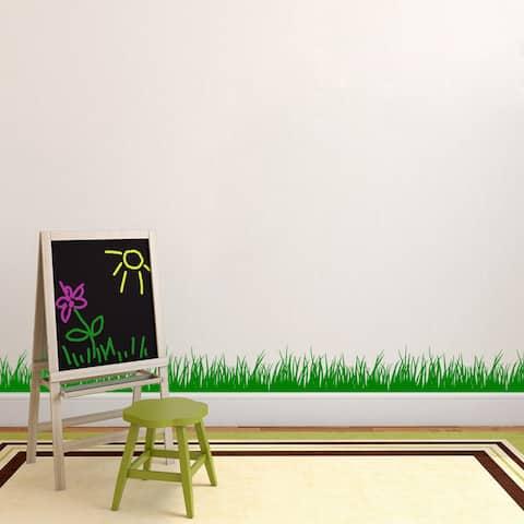 Grass Wall Decal (12x36)