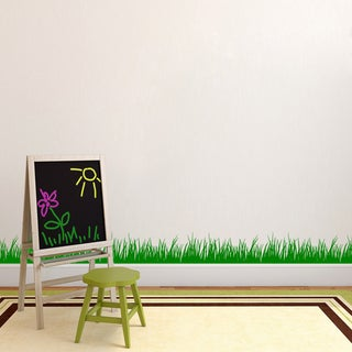 Grass Wall Decal (8x22)