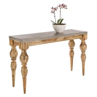 Sunpan 'MIXT' Louis Wooden Console Table