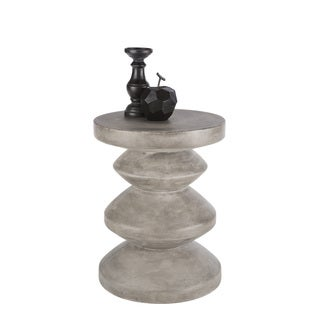 Sunpan 'MIXT' Athen Anthracite Grey End Table