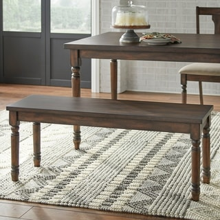Link to Simple Living Burntwood Dining Bench Similar Items in Dining Room & Bar Furniture