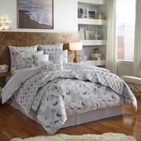 Shell Rummel Magnolia Reversible 3-piece Comforter Set
