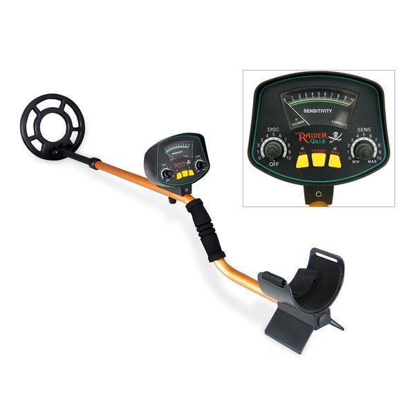 Pyle PHMD53 Metal Detector/ Waterproof Search Coil/ Pin-Point Detect/ Adjustable Sensitivity/ Headphone Jack