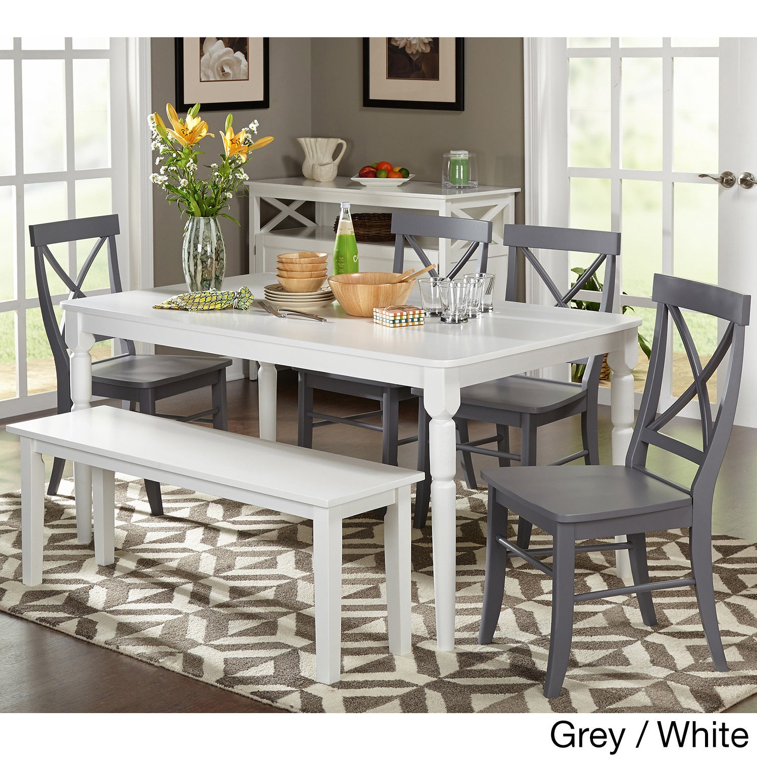Grey Kitchen Dining Room Sets For Less Overstock