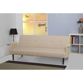 Westminster Cream Convertible Sofa Bed