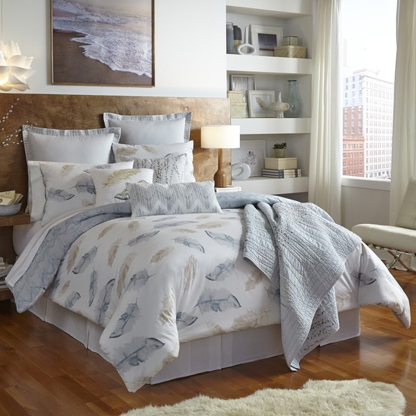 Shell Rummel Feather Reversible 3-piece Comforter Set