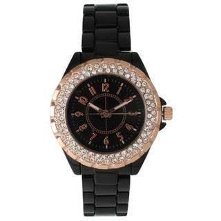 Olivia Pratt Women's Elegant Rhinestone Watch
