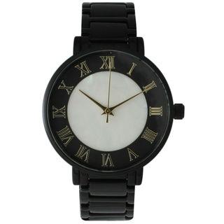 Olivia Pratt Women's Pearly Center Bracelet Watch