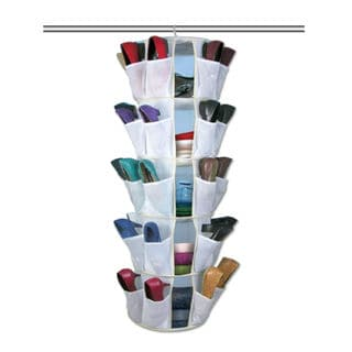 As Seen On TV 5-tier Spinning Closet and Shoe Organizer