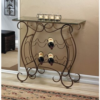 Vintage Wine Console Accent table