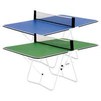 Butterfly Family Table Tennis Table - Fully Assembled, Mini Ping Pong Table, Great for Tailgating
