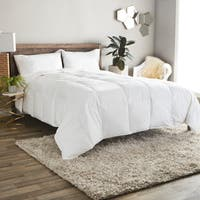 St. James Home Lightweight 380 Thread Count Cotton Sateen White Down Comforter