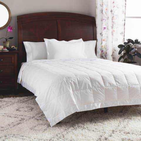 St. James Home Cotton Quilted Down Filled Blanket 230 Thread Count