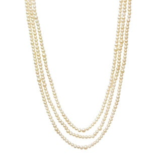 Cultured Freshwater Pearl Endless Strand 90-inch Necklace (5 - 12 mm)