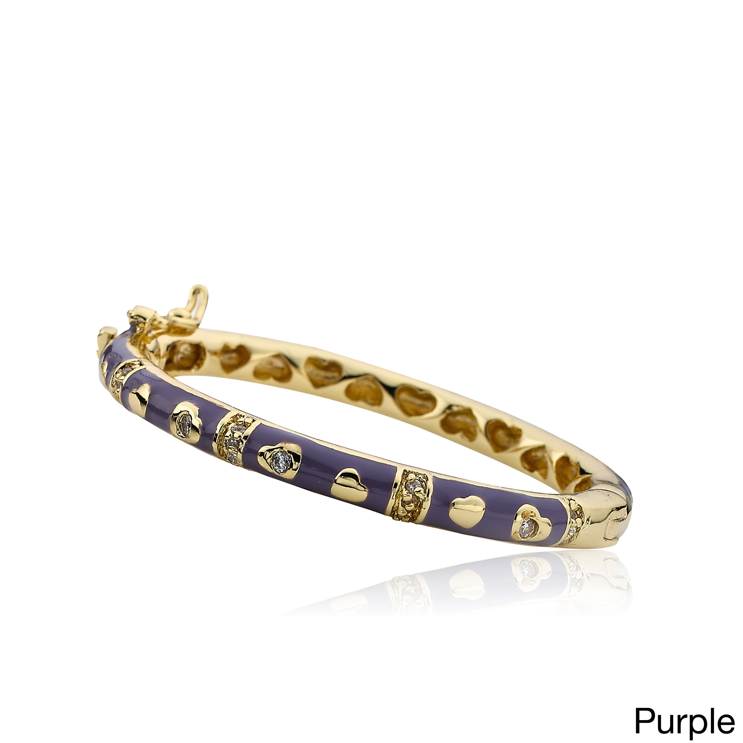 dp lai bangle jewelry bracelet yellow com style bangles inch enamel sukhothai amazon plated gold baht thai