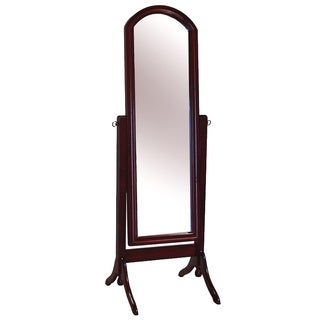 The Barrington Beveled Edge Cheval Mirror