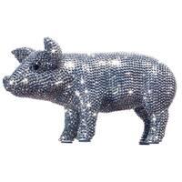Rhinestone Encrusted 12-inch Long Piggy Bank