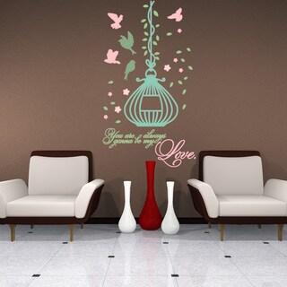 Always be my Love Love Vinyl Wall Art
