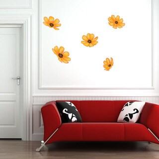 Sunflowers Floral Vinyl Wall Art