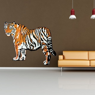 Tiger Animal Vinyl Wall Art