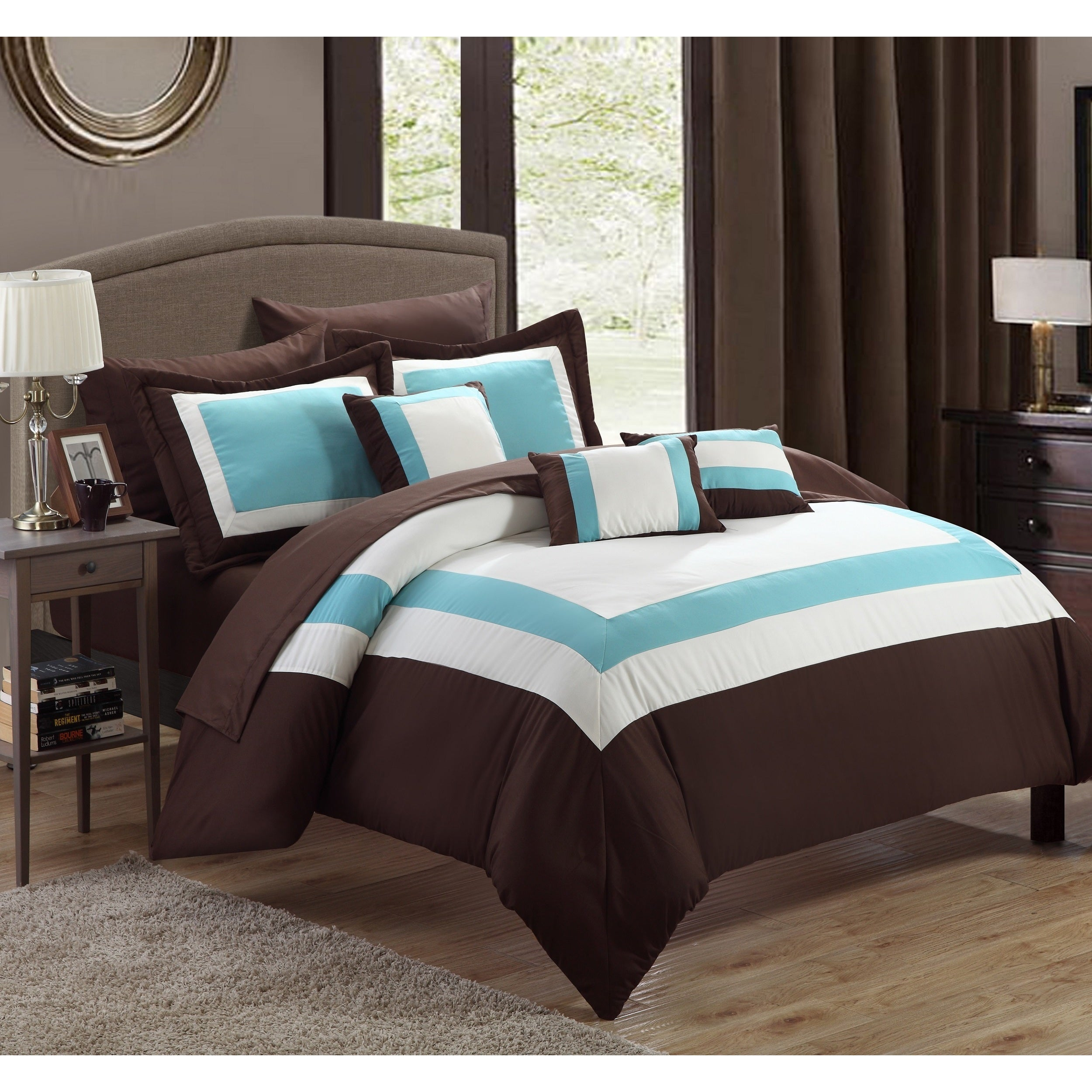 Chic Home Darren 10-piece Bed in a Bag Set