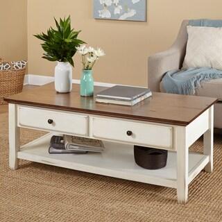 simple living charleston coffee table