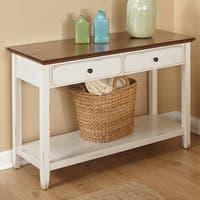 "Simple Living Charleston Sofa Table - 30.5""H x 48.5""W x 18""D"