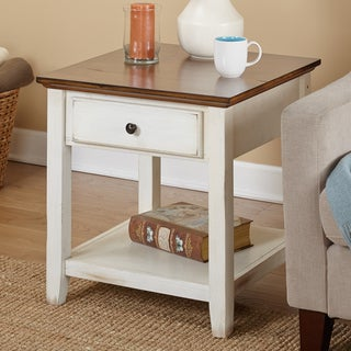"Simple Living Charleston End Table - 24""H x 23.75""W x 23.75""D"