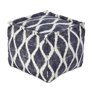 Signature Design by Ashley Bruce Ink/White Pouf