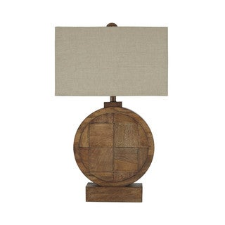 Signature Design by Ashley Shonalee Natural/Brown Wood Table Lamp