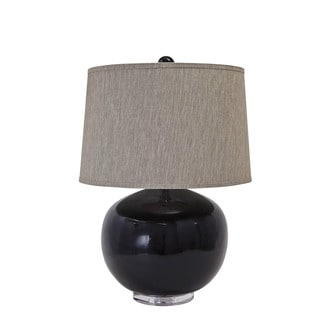 Signature Design by Ashley Savita Black Poly Table Lamp