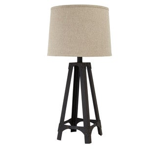Signature Design by Ashley Satchel Brown Metal Table Lamp