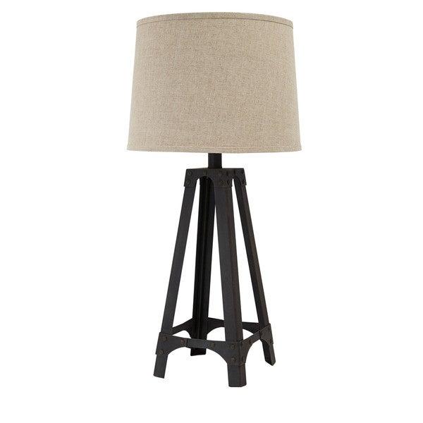Satchel Brown 33 Inch Metal Table Lamp