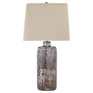 Shanilly Multi 30 Inch Glass Table Lamp