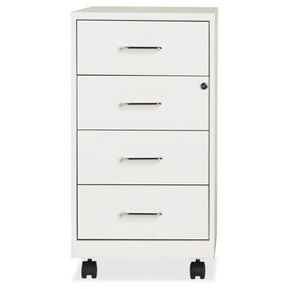18 Inch Pearl White 4 Drawer Steel File Cabinet