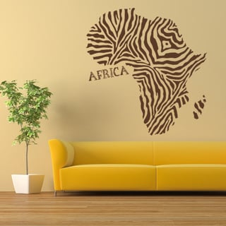 Africa World Vinyl Wall Art