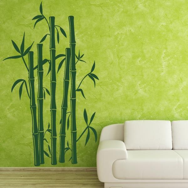 Bamboo Vinyl Wall Art - On Sale - Overstock - 10761155