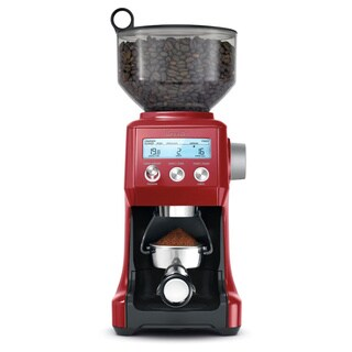 Breville BCG820BCRNXL Cranberry Red The Smart Grinder Pro Coffee Bean Grinder