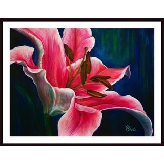 """Debra Bucci """"Embrace the Day Lily"""" Framed Art"""
