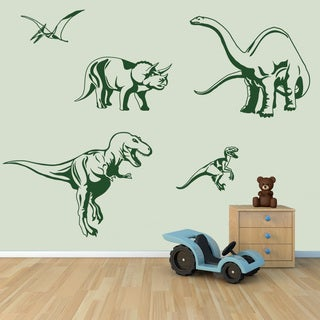 Dino Set Nursery Vinyl Wall Art