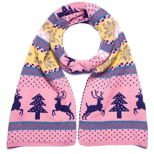 Shop Women's Reversible Knit Winter Snowflakes Christmas