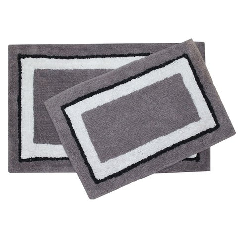 Dublin 2-piece Bath Rug Set
