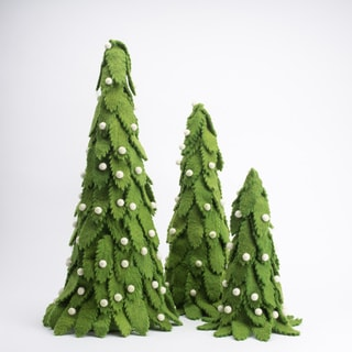 Felted Nordic Trees (Set of 3)