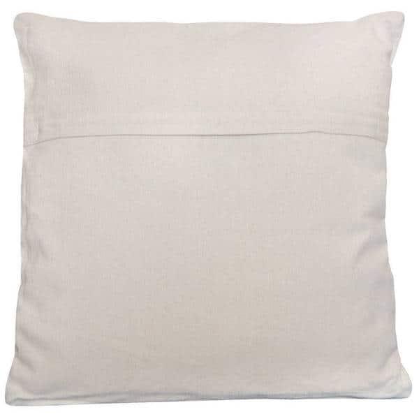 18x18 Pair Indian Hand Block Print Throw Pillows Organic Cotton Gorgeous pattern English Rose Print Side Ties Pillowcases Country Decor